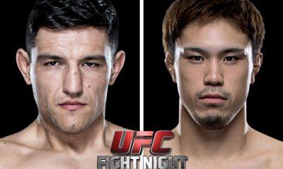Tiebreaker Times Lightweight bout between Kasuya-Hadzovic set for Fight Night Manila 2 Mixed Martial Arts News UFC  Yusuke Kasuya UFC Fight Night Manila 2 Damir Hadzovic