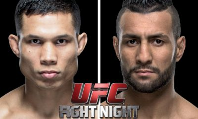 Tiebreaker Times Tuck looks to make it 2-0 in Manila Mixed Martial Arts News UFC  UFC Fight Night Manila 2 Mehdi Baghdad Jon Tuck