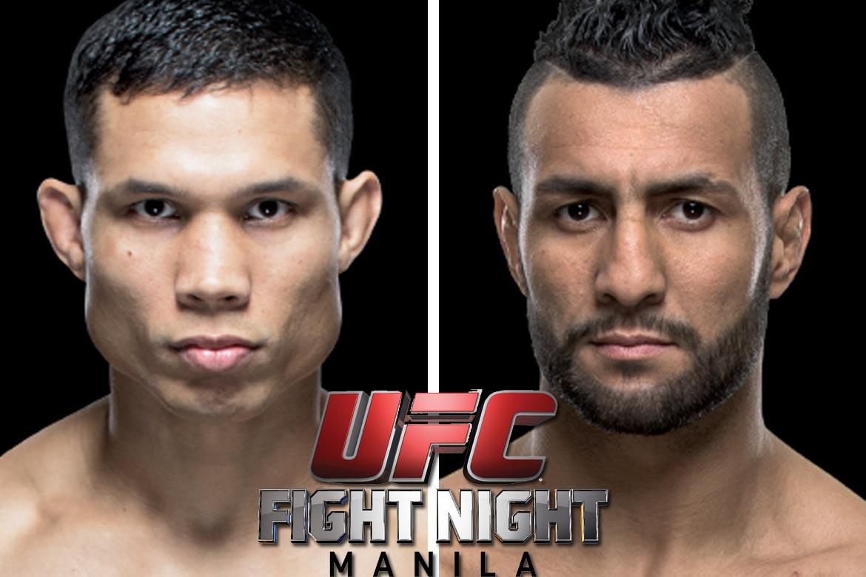 Tiebreaker Times Tuck looks to make it 2-0 in Manila Mixed Martial Arts News UFC  UFC Fight Night Manila 2 Mehdi Baghdad Jon Tuck