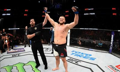 Tiebreaker Times Tybura ready to go to war against Lewis Mixed Martial Arts News UFC  UFC Fight Night Manila 2 Marcin Tybura