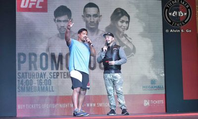 Tiebreaker Times Muñoz on starting a local camp: 'There's a good possibility' Mixed Martial Arts News UFC  UFC Fight Night Manila 2 Mark Munoz