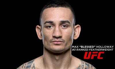 Tiebreaker Times Elite UFC Featherweight Holloway to visit Manila Mixed Martial Arts News UFC  UFC Fight Night Manila 2 Max Holloway