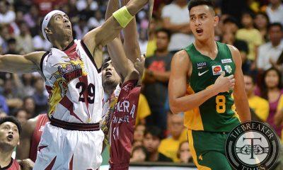 Tiebreaker Times Escoto continues to look up to Arwind Santos Basketball Gilas Pilipinas News PBA  Russel Escoto PBA Season 42 Mahindra Enforcers Arwind Santos 2016 PBA Draft