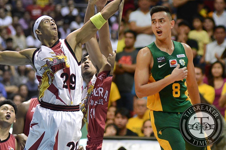 Philippine Sports News - Tiebreaker Times Escoto continues to look up to Arwind Santos Basketball Gilas Pilipinas News PBA  Russel Escoto PBA Season 42 Mahindra Enforcers Arwind Santos 2016 PBA Draft
