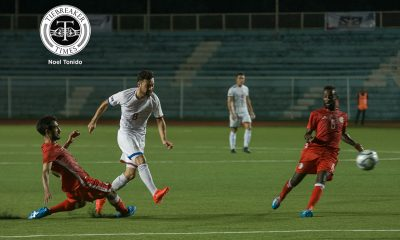 Tiebreaker Times Ott brothers savour bittersweet occasion in loss to Bahrain Football News Philippine Azkals  Mike Ott Manny Ott