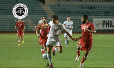 Tiebreaker Times Philippines folds to Tajikistan in Bangabandhu Cup semis Football News Philippine Azkals  Tajikistan (Football) Misagh Bahadoran Louie Casas Anto Gonzales 2018 Bangabandhu Cup