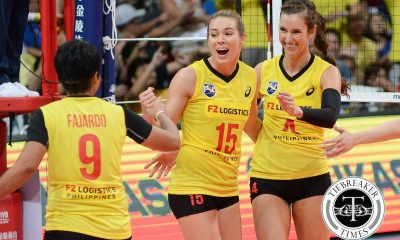 Tiebreaker Times Americans Niemer, Stalzer honored to be part of Philippine volleyball history 2016 FIVB Women's CWC News PSL Volleyball  Stephanie Niemer PSL-F2 Logistics Manila Lindsay Stalzer 2016 PSL Season