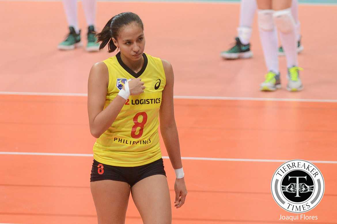 Tiebreaker Times Blessings keep coming to Gonzaga as she returns to PWNVT News Volleyball  Philippine Women's National Volleyball Team Jovelyn Gonzaga