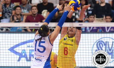 Tiebreaker Times Reyes provides fans with moments of glee in first World's outing 2016 FIVB Women's CWC News Volleyball  PSL-F2 Logistics Manila Mika Reyes 2016 PSL Season