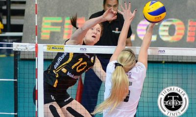 Tiebreaker Times Vakifbank thumps Bangkok Glass to secure semis spot 2016 FIVB Women's CWC News Volleyball  Vakifbank Istanbul Thidarat Phengvechai Lonneke Slöetjes Hatice Gizem Orge Gozde Kirdar Bangkok Glass