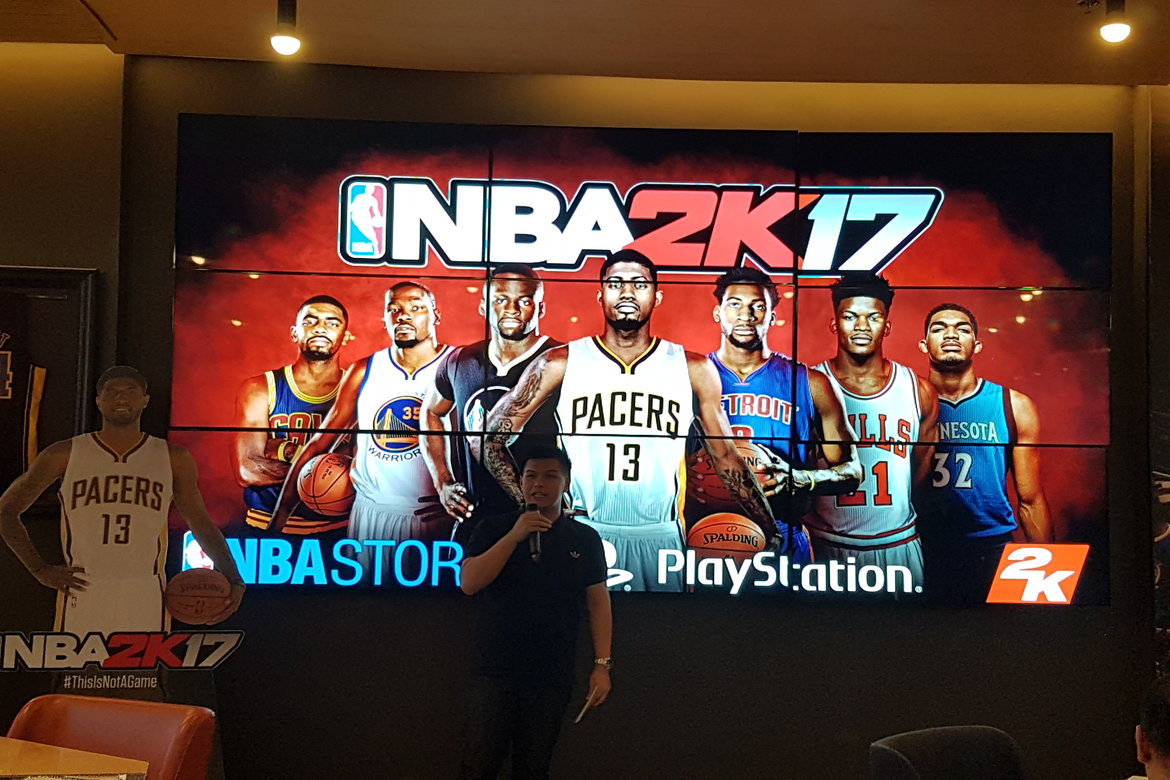 Tiebreaker Times Basketball fans compete for NBA 2K17 PS4 Asia Tournament qualifiers Basketball News  NBA 2K17 PS4 Asia Tournament NBA 2K17 ESGS E-sports and Gaming Summit