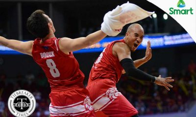 Tiebreaker Times San Beda goes to the Finals for the 11th straight year Basketball NCAA News SBC UPHSD  San Beda Seniors Basketball Robert Bolick Perpetual Seniors Basketball NCAA Season 92 Seniors Basketball NCAA Season 92 Jimwell Gican Javee Mocon Jamike Jarin Gab Dagangon Davon Potts Daryl Singontiko Bright Akhuetie
