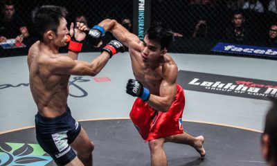 Tiebreaker Times Versatility is Pacio's key to victory against DSA, says Team Lakay coach Mixed Martial Arts News ONE Championship  Team Lakay ONE: Warrior Kingdom Mark Sangiao Joshua Pacio Dejdamrong Sor Amnuaysirichoke