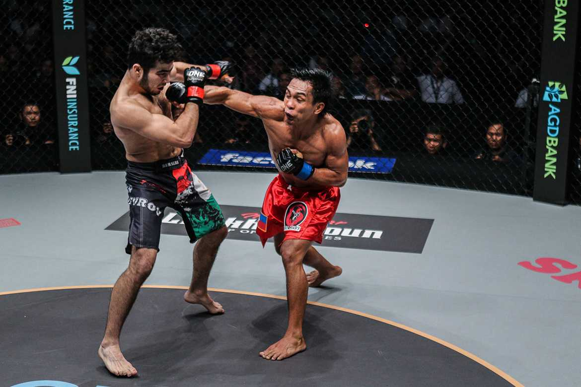 Philippine Sports News - Tiebreaker Times Kevin Belingon looks to cement position as next title challenger Mixed Martial Arts News ONE Championship  Team Lakay ONE: Legends of the World Kevin Belingon