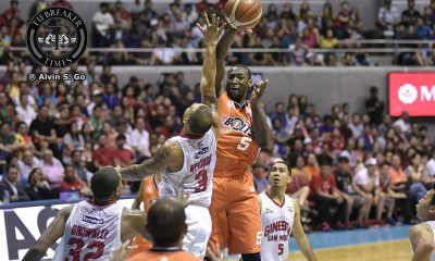 Tiebreaker Times QF loss to TNT, Durham's return to spark Meralco's Govs Cup campaign Basketball News PBA  PBA Season 42 Norman Black Meralco Bolts Allen Durham 2017 PBA Governors Cup 2017 PBA Commissioners Cup