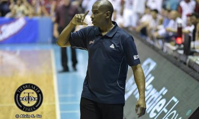 Tiebreaker Times Black on Stepheson's struggle against TNT locals: 'If you did that against me, I'm gonna get 50' Basketball News PBA  PBA Season 42 Norman Black Meralco Bolts Alex Stepheson 2017 PBA Commissioners Cup