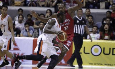 Tiebreaker Times Durham drops 46 as Meralco steals Game One in Finals opener Basketball News PBA  Tim Cone Reynel Hugnatan PBA Season 41 PBA Governors Norman Black Meralco Bolts Mark Caguioa Justine Brownlee Chris Newsome Barangay Ginebra San Miguel Allan Durham