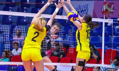Tiebreaker Times Petron charges to second win, sweeps F2 Logistics News PSL Volleyball  Sydney Kemper Stephanie Niemer Shaq delos Santos Petron Tri-activ Spikers Jen Reyes F2 Logistics Cargo Movers Ces Molina Acy Masangkay 2016 PSL Season 2016 PSL Grand Prix