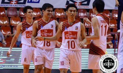Tiebreaker Times HD Spikers finish Volley Masters in straight sets News PVL Volleyball  Ysay Marasigan Vince Mangulabnan Sandy Montero Peter Torres Michael Carino Khenno Franco IEM Volley Masters Ernesto Balubar Cignal HD Spikers 2016 SVL Season 2016 SVL Reinforced Conference