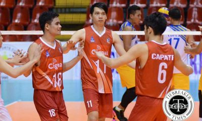 Tiebreaker Times Cignal averts poor start, sends down Army in five sets News PVL Volleyball  Sandy Montero Rico De Guzman Peter Torres Patrick Rojas Michael Carino Lorenzo Capate Jr. Joel Villonson Glacy Diezmo Edmar Bonono Cignal HD Spikers Benjaylo Labide Army Troopers 2016 Spikers Turf Season 2016 Spikers Turf Reinforced Conference
