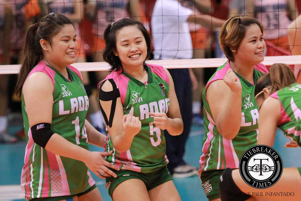 Philippine Sports News - Tiebreaker Times Laoag grinds out tight win from Air Force News PVL Volleyball  Wenneth Eulalio Nes Pamilar Laoag Power Smashers Joy Cases Jocemer Tapic Jasper Jimenez Grethcel Soltones Eunice Galang Chie Saet Air Force Jet Spikers 2016 SVL Season 2016 SVL Reinforced Conference