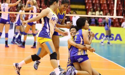 Tiebreaker Times All-Filipino Air Force upsets loaded Pocari Sweat News PVL Volleyball  Wendy Semana Rommel Abella Pocari Sweat Lady Warriors Michele Gumabao May Ann Pantino May Ann Balmaceda Judy Caballejo Jocemer Tapic Jasper Jimenez Breanna Mackie Andrea Kacsits Air Force Jet Spikers 2016 SVL Season 2016 SVL Reinforced Conference
