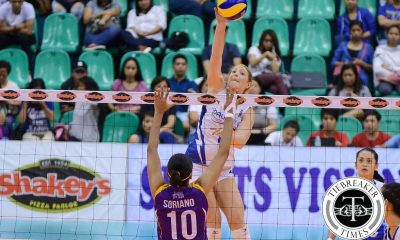 Tiebreaker Times Bali Pure coasts to fourth straight win, clinches semis berth News PVL Volleyball  Tai Bundit Laoag Power Smashers Kaylee Manns Katherine Morrell Jorelle Singh Grethcel Soltones Denden Lazaro Bali Pure Purest Water Defenders Amy Ahomiro 2016 SVL Season 2016 SVL Reinforced Conference