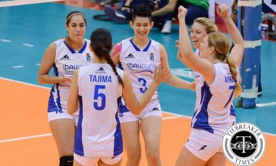 Tiebreaker Times Back from layoff, Roces happy to compete once more News PVL Volleyball  Sue Roces Bali Pure Purest Water Defenders 2016 SVL Season 2016 SVL Reinforced Conference