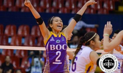 Tiebreaker Times Valdez on facing friends, former teamamtes: 'It will help us grow' News PVL Volleyball  Denden Lazaro Charo Soriano Bureau of Customs Transformers Bali Pure Purest Water Defenders Alyssa Valdez 2016 SVL Season 2016 SVL Reinforced Conference