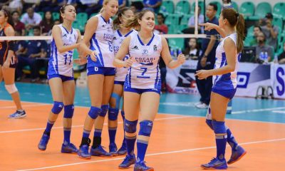 Tiebreaker Times Pocari Sweat posts first win, keeps Coast Guard winless News PVL Volleyball  Rommel Abella Rica Enclona Pocari Sweat Lady Warriors Michele Gumabao Gyzelle Sy Grenlen Malapit Gilbert Odrion Coast Guard Lady Dolphins Breanna Mackie Andrea Kacsits 2016 SVL Season 2016 SVL Reinforced Conference