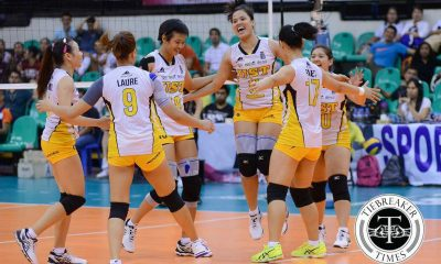 Tiebreaker Times Now fully healed, Lastimosa eager to lead UST squad News PVL UST Volleyball  UST Women's Volleyball Pam Lastimosa 2016 SVL Season 2016 SVL Reinforced Conference
