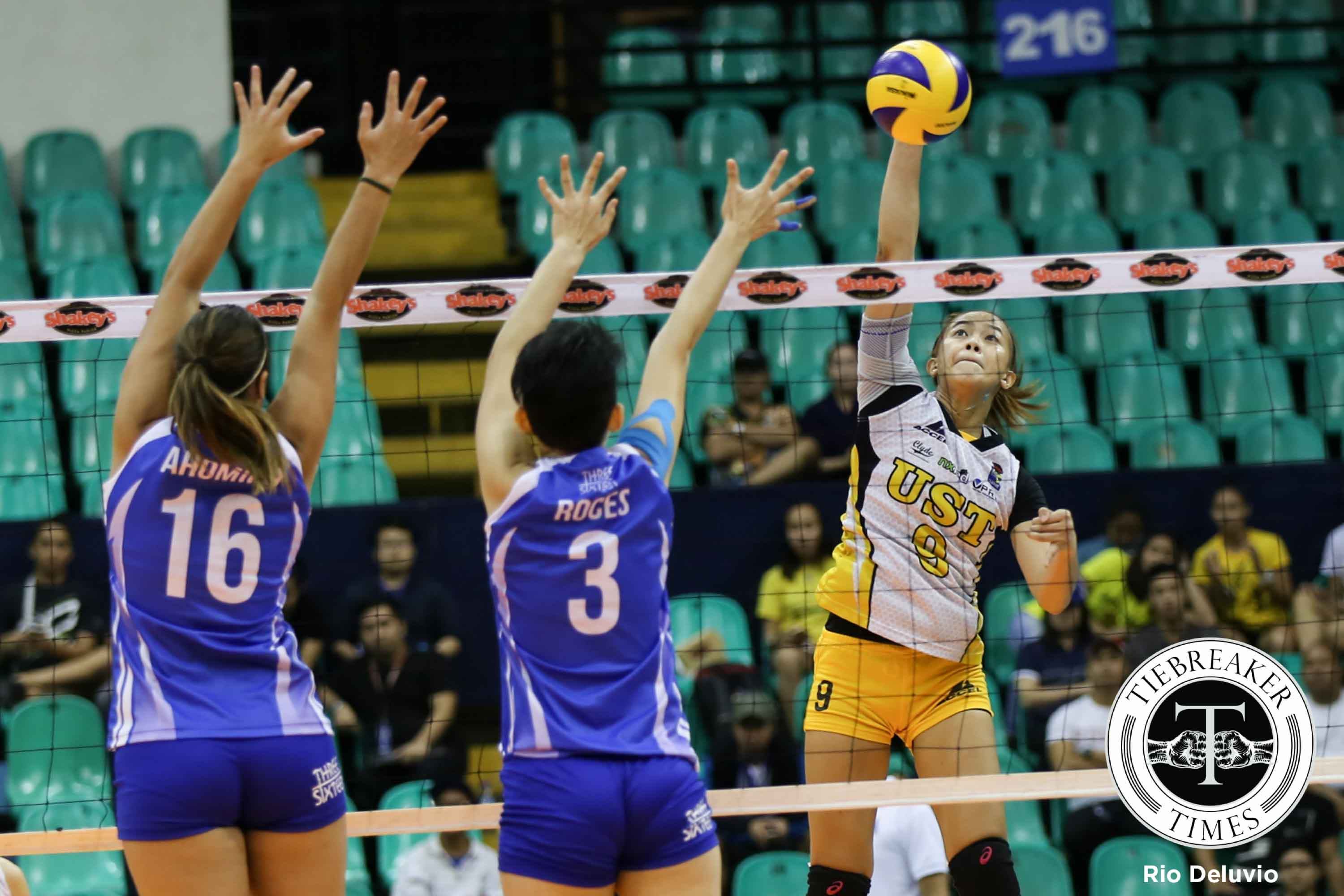 Tiebreaker Times Laure sees more energetic Tigresses heading into semis News PVL UST Volleyball  UST Women's Volleyball EJ Laure 2016 SVL Season 2016 SVL Reinforced Conference
