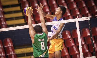 Tiebreaker Times Air Force strikes down Army in Battle of Armed Forces News PVL Volleyball  Rico De Guzman Rhovyl Verayo Patrick Rojas Mark Alfafara Louie Chavez Jessie Lopez Bryan Bagunas Benjaylo Labide Army Troopers Air Force Airmen 2016 Spikers Turf Season 2016 Spikers Turf Reinforced Conference