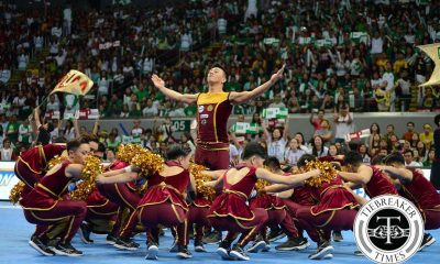 Tiebreaker Times UP Pep Squad will not participate in 2016 CDC Cheerleading News UAAP UP  UP Pep Squad UAAP Season 79 Cheerdance Competition UAAP Season 79