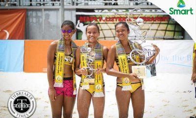 Tiebreaker Times New teammate, same dominant Rondina Beach Volleyball News UAAP UST  UAAP Season 79 Women's Beach Volleyball UAAP Season 79 MVP UAAP Season 79 Jem Gutierrez Cherry Rondina