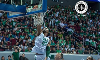 Tiebreaker Times La Salle bullies Ateneo anew to sweep first round ADMU Basketball DLSU News UAAP  UAAP Season 79 Men's Basketball UAAP Season 79 Sandy Arespacochaga Matt Nieto Louie Gonzalez DLSU Men's Basketball Ben Mbala Ateneo Men's Basketball Anton Asistio Andrei Caracut Adrian Wong Abu Tratter