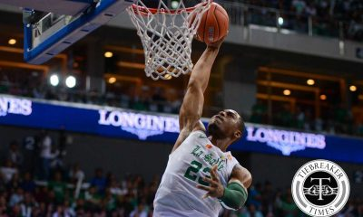 Tiebreaker Times Ben Mbala might miss more games due to FIBA WCQ Basketball DLSU News UAAP  UAAP Season 80 Men's Basketball UAAP Season 80 DLSU Men's Basketball Ben Mbala 2017 FIBA Afrobasket