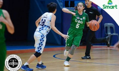 Tiebreaker Times La Salle escapes gutsy Adamson to secure seventh victory AdU Basketball DLSU News UAAP  UAAP Season 79 Women's Basketball UAAP Season 79 Snow Penaranda Nathalia Prado Mike Fermin Jonalyn Lacson DLSU Women's Basketball Cholo Villanueva Camille Claro Anne Castillo Adamson Women's Basketball