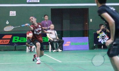 Tiebreaker Times Bernardo relishes first year in the UAAP Badminton News UAAP UP  UP Men's Badminton Team UAAP Season 79 Badminton UAAP Season 79 JM Bernardo
