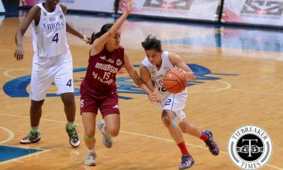 Tiebreaker Times No signs of rust as Lady Bulldogs blast Lady Maroons for fifth win Basketball News NU UAAP UP  UP Women's Basketball UAAP Season 79 Women's Basketball UAAP Season 79 Patrick Aquino NU Women's Basketball Kenneth Raval Jack Animam Gemma Miranda Daphne Esplana Afril Bernardino