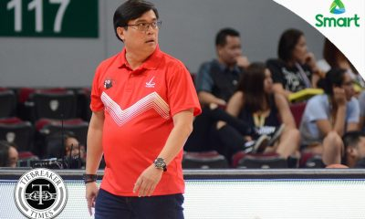 Tiebreaker Times Defeated Pumaren on 2-7 record: 'We're not in control anymore' Basketball News UAAP UE  UE Men's Basketball UAAP Season 79 Men's Basketball UAAP Season 79 Derrick Pumaren