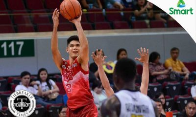 Tiebreaker Times UE grinds out demoralized UST to make it two in a row AdU Basketball News UAAP UST  William Afoakwah UST Men's Basketball UE Men's Basketball UAAP Season 79 Men's Basketball UAAP Season 79 Mark Olayon Louie Vigil Jeepy Faundo Derrick Pumaren Boy Sablan Alvin Pasaol
