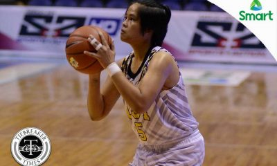 Tiebreaker Times Growling Tigresses taking it one step at a time, says Anies Basketball News UAAP UST  UST Women's Basketball UAAP Season 79 Women's Basketball UAAP Season 79 Shanda Anies