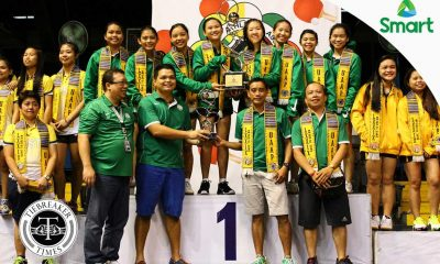 Tiebreaker Times Lady Green Paddlers cap off comeback, remain as UAAP queens DLSU News Table Tennis UAAP UST  UST Women's Table Tennis UAAP Season 79 Women's Table Tennis UAAP Season 79 Nina Nacasabog Mardeline Carreon Kate Encarnacion Jamaica Sy Ina Co Emy Dael DLSU Women's Table Tennis Danica Alburo Chantal Alberto