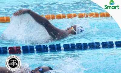 Tiebreaker Times Ateneo rules Day One of UAAP Swimming ADMU AdU DLSU News NU Swimming UAAP UE UP UST  UST Men's Swimming UP Men's Swimming UE Men's Swimming UAAP Season 79 Women's Swimming UAAP Season 79 Men's Swimming UAAP Season 79 Romina Gavino Rafael Sta. Maria NU Men's Swimming Joy Rodgers Jethro Chua Jessie Lacuna Jeric Santos Janna Taguibao Hannah Dato Gian Berino DLSU Men's Swimming Dexter Lacuna Carlo Silva Carlo Doragos Axel Ngui Ateneo Men's Swimming Ariana Canaya Anna Bartolome Andrea Ngui Aldo Batungbacal Adamson Men's Swimming