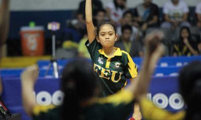 Tiebreaker Times FEU, UST claim rightful places in the semis FEU News Table Tennis UAAP UP UST  UST Women's Table Tennis UP Women's Table Tennis UAAP Season 79 Women's Table Tennis Sham Pineda Rose Jean Fadol Rachel Parba Noriko Noshino Nina Nacasabong Katrina Tempiatura Kate Encarnacion Irish Escobido FEU Women's Table Tennis Danica Alburo CJ Ching Chanda Ching