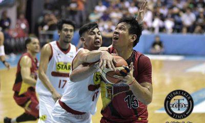 "Tiebreaker Times Fajardo says Beermen ""overly aggressive yet composed"" in opener Basketball News PBA  San Miguel Beermen PBA Season 42 June Mar Fajardo 2016-17 PBA All Filipino Conference"