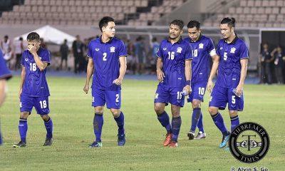 Tiebreaker Times Teerasil hattrick stuns Indonesia 2016 AFF Suzuki Cup (Philippines) Football News  Thailand (Football) Teerasil Dangda Peerapat Notchaiya Larby Eliandry Kiatisuk Senamuang Indonesia (Football) Boaz Salossa