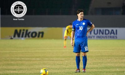 Tiebreaker Times Younghusband freekick saves Philippines a point versus Indonesia 2016 AFF Suzuki Cup (Philippines) Football News Philippine Azkals  Thomas Dooley Phil Younghusband Misagh Bahadoran Indonesia (Football) Fachruddin Aryanto Boaz Salossa