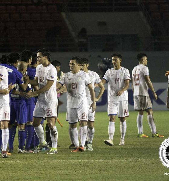Tiebreaker Times Disappointment lingers for the Azkals after Suzuki Cup debacle 2016 AFF Suzuki Cup (Philippines) Football News Philippine Azkals  Stephan Schrock Roland Muller